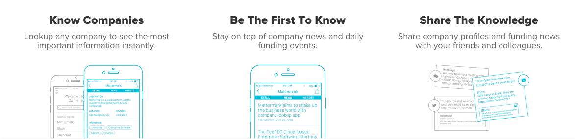 mattermark ios app