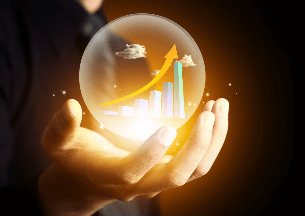 sales crystal ball